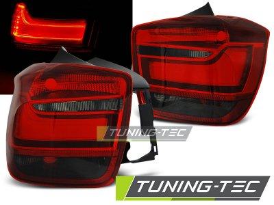 Задние фонари LED Red Smoke на BMW 1 F20