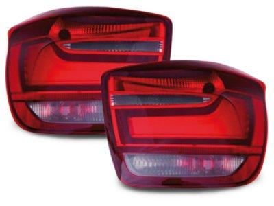 Задние неоновые фонари LED Red Crystal на BMW 1 F20