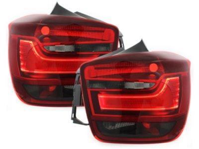 Задние неоновые фонари LED Red Smoke на BMW 1 F20