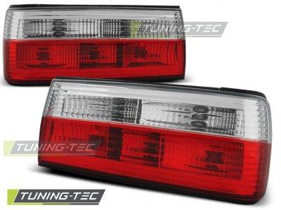 Задние фонари красные на BMW 3 E30 рестайл