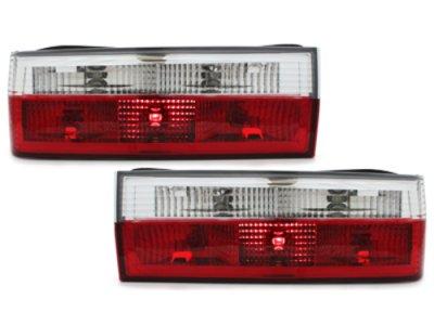 Задняя альтернативная оптика Red Crystal на BMW 3 E30