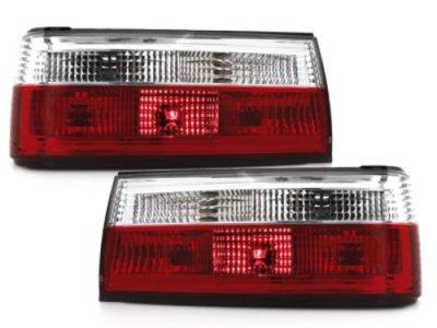 Задняя альтернативная оптика Red Crystal на BMW 3 E30 рестайл