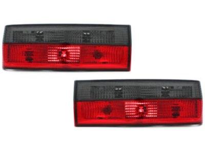 Задняя альтернативная оптика Red Smoke на BMW 3 E30 рестайл
