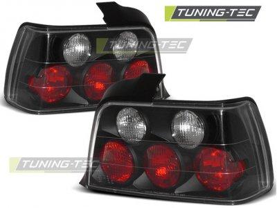 Задние фонари Black на BMW 3 E36 Limousine