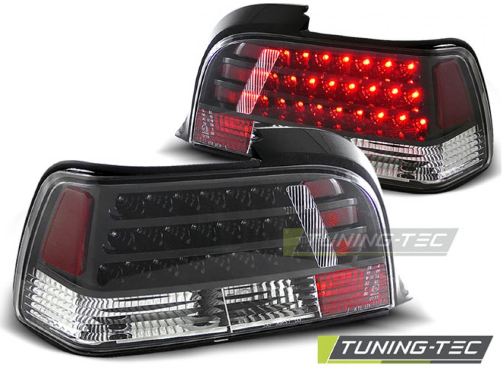 Задние фонари LED Black на BMW 3 E36 Coupe / Cabrio