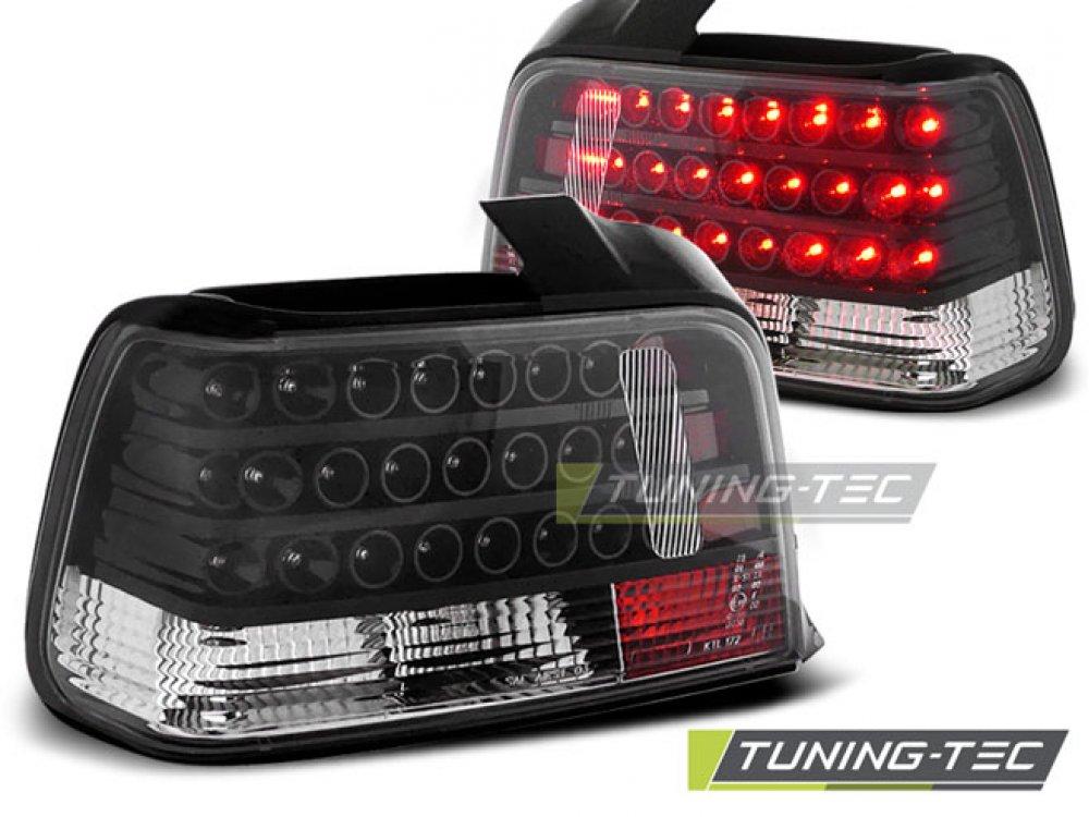 Задние фонари LED Black на BMW 3 E36 Limousine