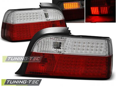 Задние фонари LED Red Crystal на BMW 3 E36 Coupe / Cabrio