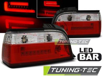 Задние неоновые фонари LED Red Crystal на BMW 3 E36 Coupe / Cabrio