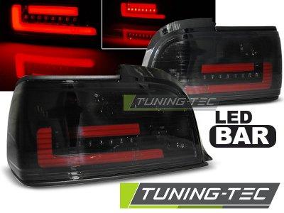 Задние неоновые фонари LED Black Smoke на BMW 3 E36 Coupe / Cabrio