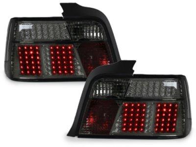Задние светодиодные фонари LED Smoke на BMW 3 E36 Limousine