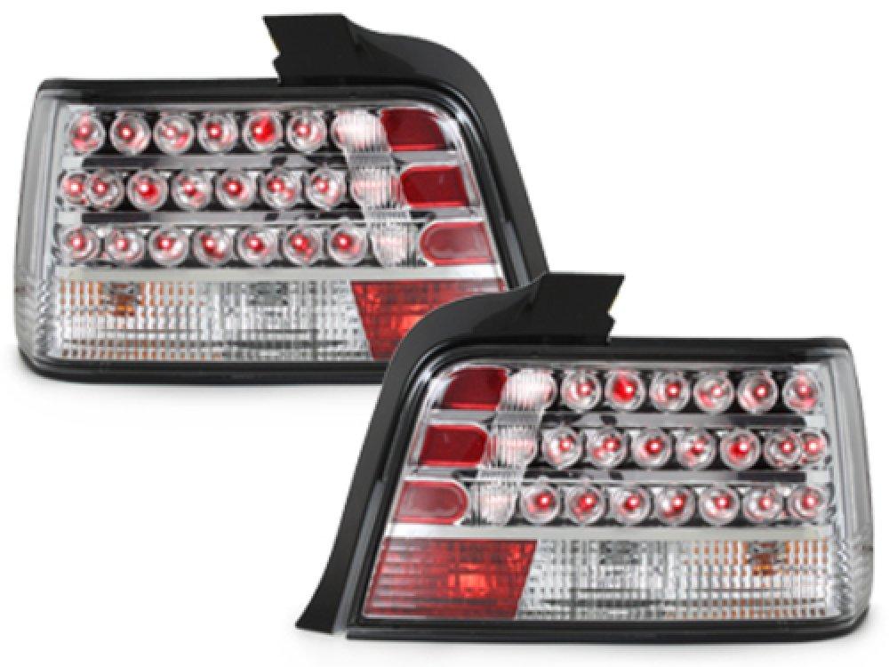 Задние диодные фонари LED Crystal на BMW 3 E36 Limousine