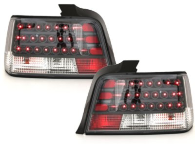 Задние диодные фонари LED Black на BMW 3 E36 Limousine