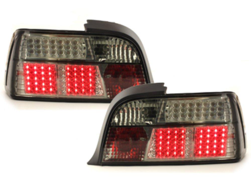 Задние диодные фонари LED Smoke на BMW 3 E36 Coupe