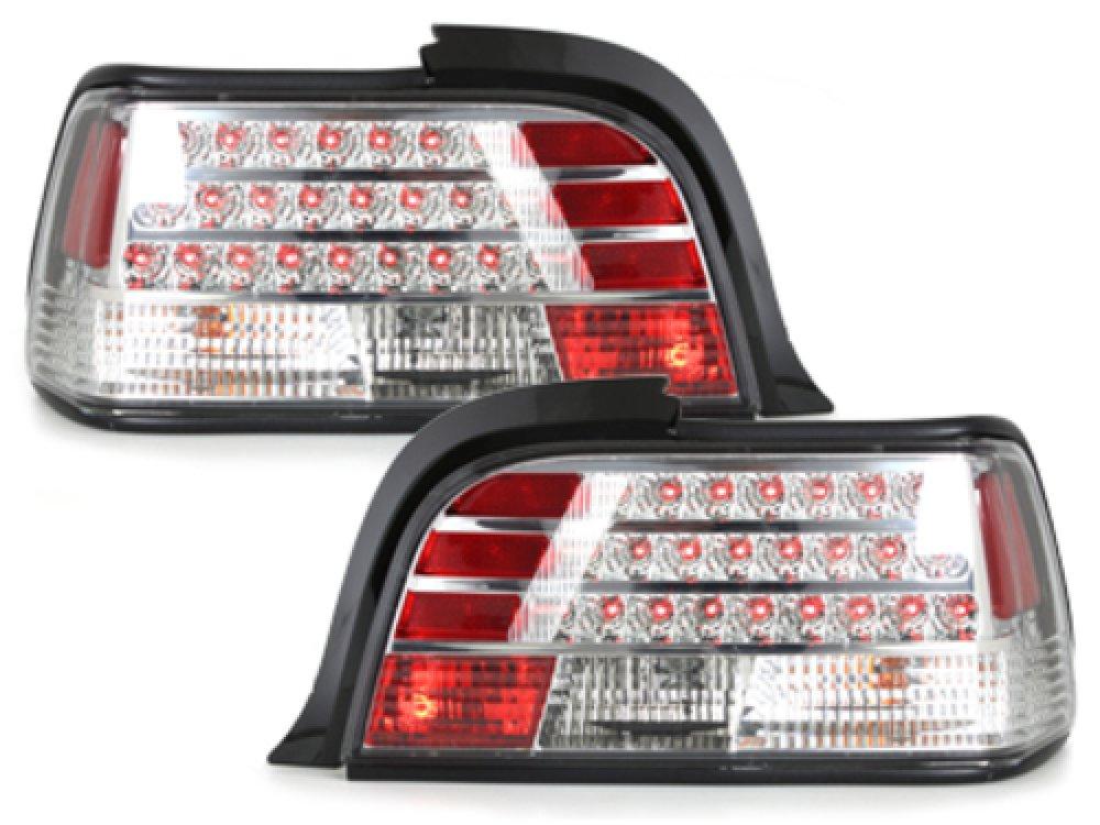 Задние диодные фонари LED Crystal на BMW 3 E36 Coupe