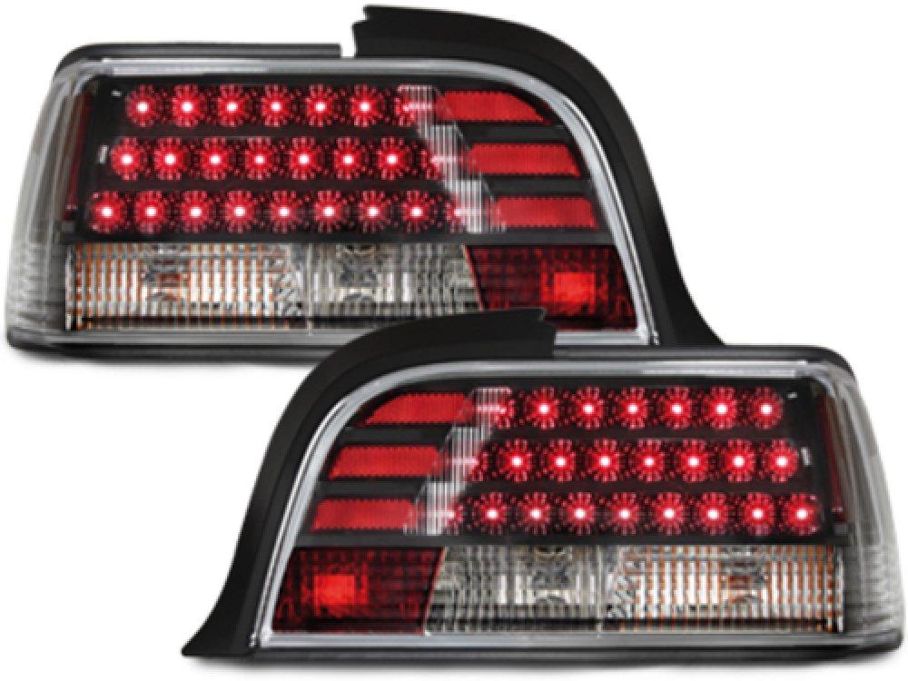 Задние светодиодные фонари LED Smoke на BMW 3 E36 Coupe