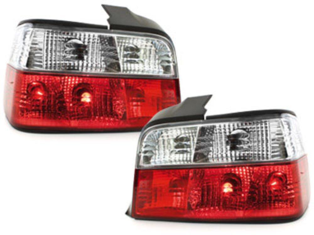 Задние фонари Red Crystal на BMW 3 E36 Limousine