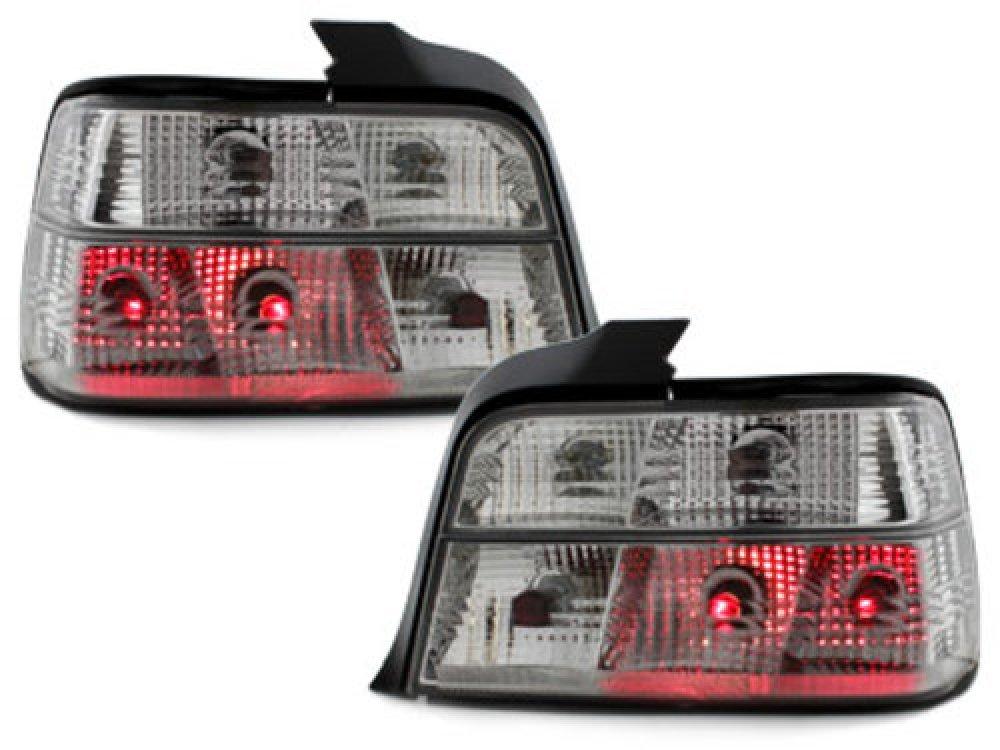 Задние фонари Crystal на BMW 3 E36 Limousine