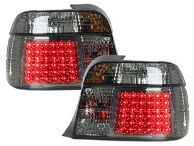 Задние светодиодные фонари LED Smoke на BMW 3 E36 Compact