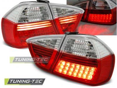 Задние диодные фонари LED Red Crystal от Tuning-Tec на BMW 3 E90