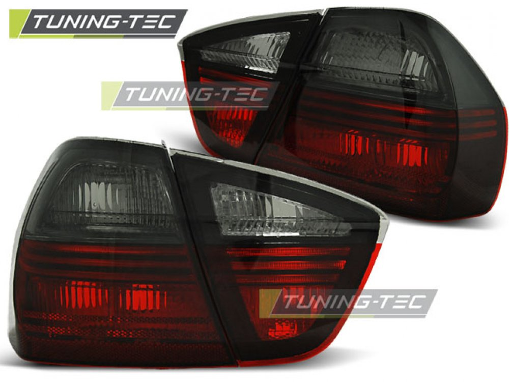 Задние фонари Red Smoke от Tuning-Tec на BMW 3 E90
