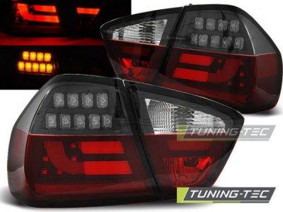 Задние фонари Full LED Black Smoke на BMW 3 E90