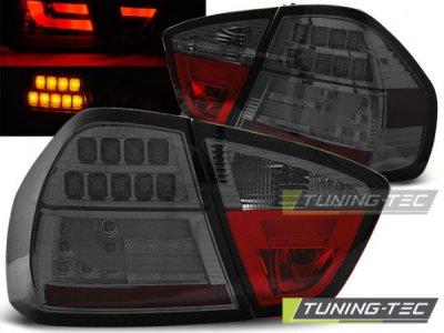 Задние фонари Full LED Smoke на BMW 3 E90