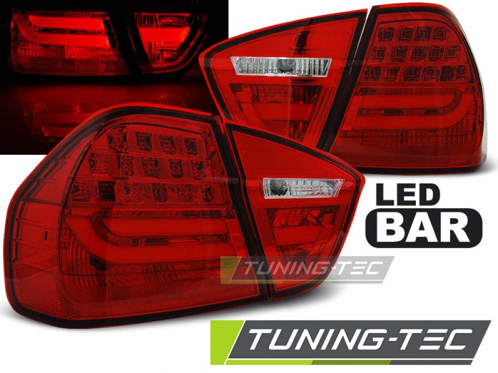 Задние фонари LED Bar Red на BMW 3 E90