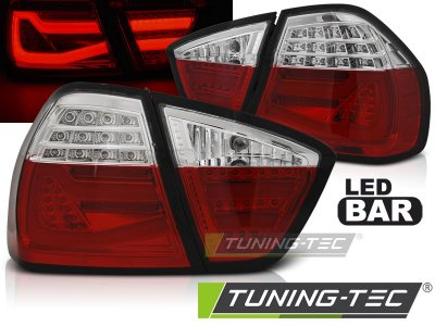 Задние фонари F30 Look LED Red Crystal от Tuning-Tec на BMW 3 E90