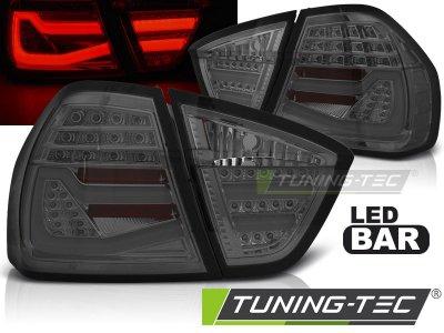 Задние фонари F30 Look LED Smoke от Tuning-Tec на BMW 3 E90