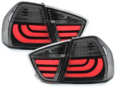 Задние фонари CarDNA LED Smoke на BMW 3 E90