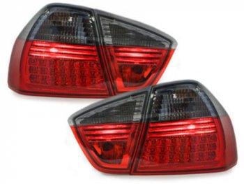 Задние фонари LED Red Smoke на BMW 3 E90