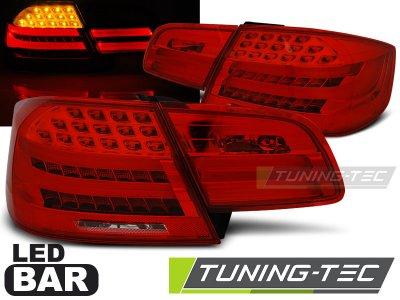 Задние фонари LEDBar Red Crystal от Tuning-Tec на BMW 3 E92 Coupe