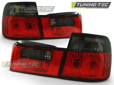 Задние фонари Red Smoke на BMW 5 E34