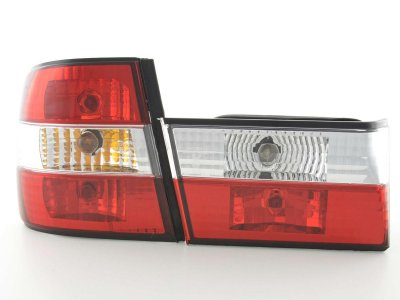 Задние фонари Red Crystal на BMW 5 E34