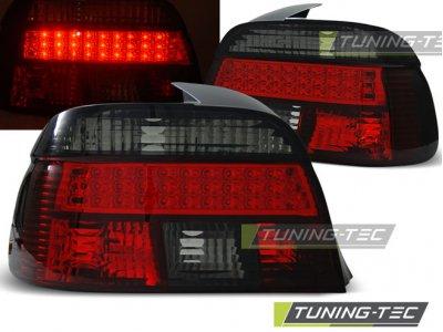 Задние диодные фонари LED Red Smoke на BMW 5 E39