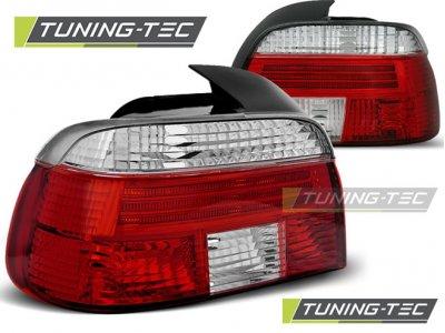 Задние фонари Red Crystal от Tuning-Tec на BMW 5 E39