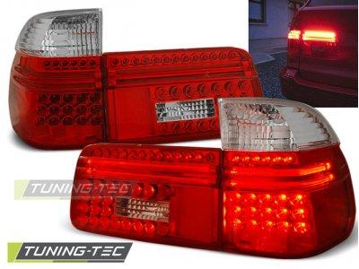 Задние фонари LED Red Crystal от Tuning-Tec на BMW 5 E39 Touring