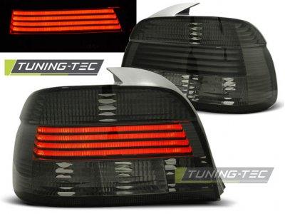 Задние фонари Neon Smoke на BMW 5 E39 рестайл