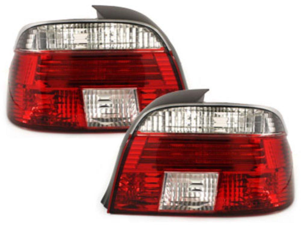 Задняя альтернативная оптика Red Crystal на BMW 5 E39