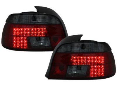 Задние фонари LED Red Smoke на BMW 5 E39