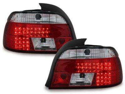 Задние фонари LED Red Crystal на BMW 5 E39