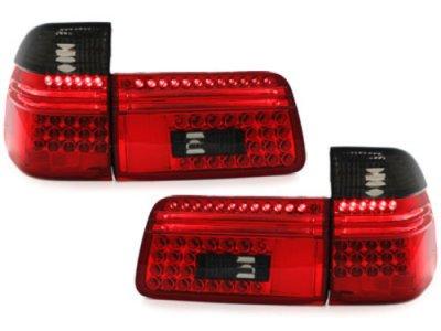 Задние фонари LED Red Smoke на BMW 5 E39 Touring