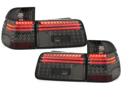 Задние фонари LED Smoke на BMW 5 E39 Touring