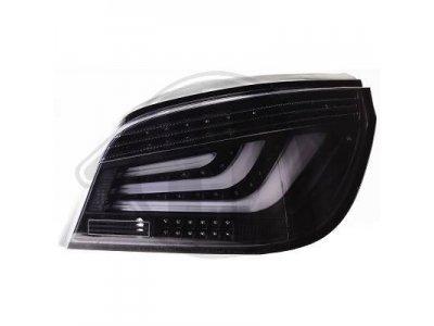 Задние фонари F-Style Black на BMW 5 E60 рестайл