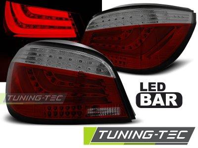 Задние фонари F-Style LED Red Smoke на BMW 5 E60 рестайл