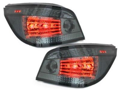Задние фонари Full LED Smoke на BMW 5 E60