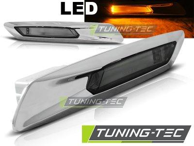 Повторители поворота LED Chrome для BMW 5 F10 / F11