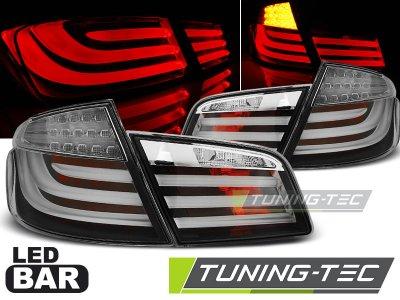 Задние диодные фонари LED Black на BMW 5 F10