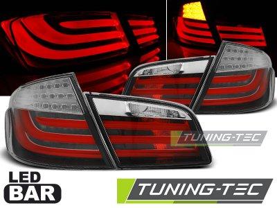 Задние диодные фонари LED Red Crystal на BMW 5 F10