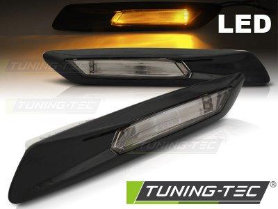 Повторители поворота LED Black для BMW 5 F10 / F11